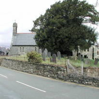 Llanwchllyn village Church